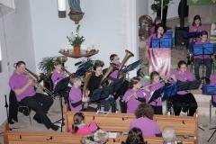 Unsere Jugend mit freundlicher Unterstützung von Musikern aus dem Erwachsenenorchester