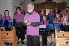 Das Jugendorchester unter der Leitung von Mark Merritt